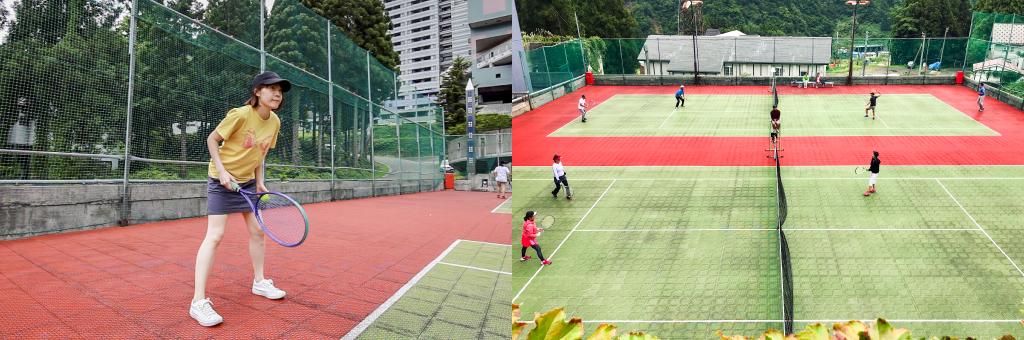 テニスコートサブ画像